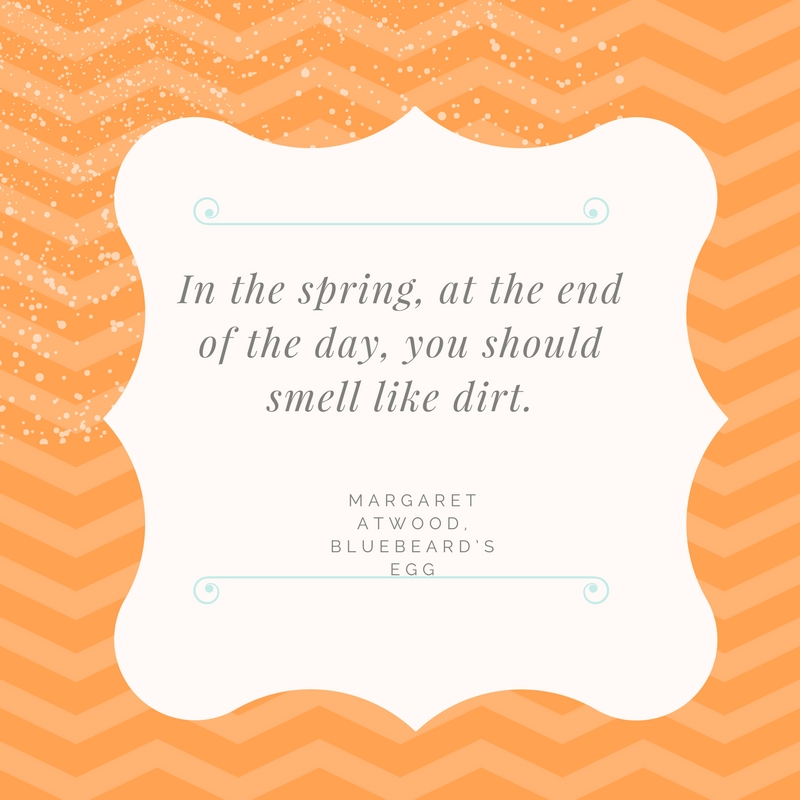 The Sweet Smells of Spring...