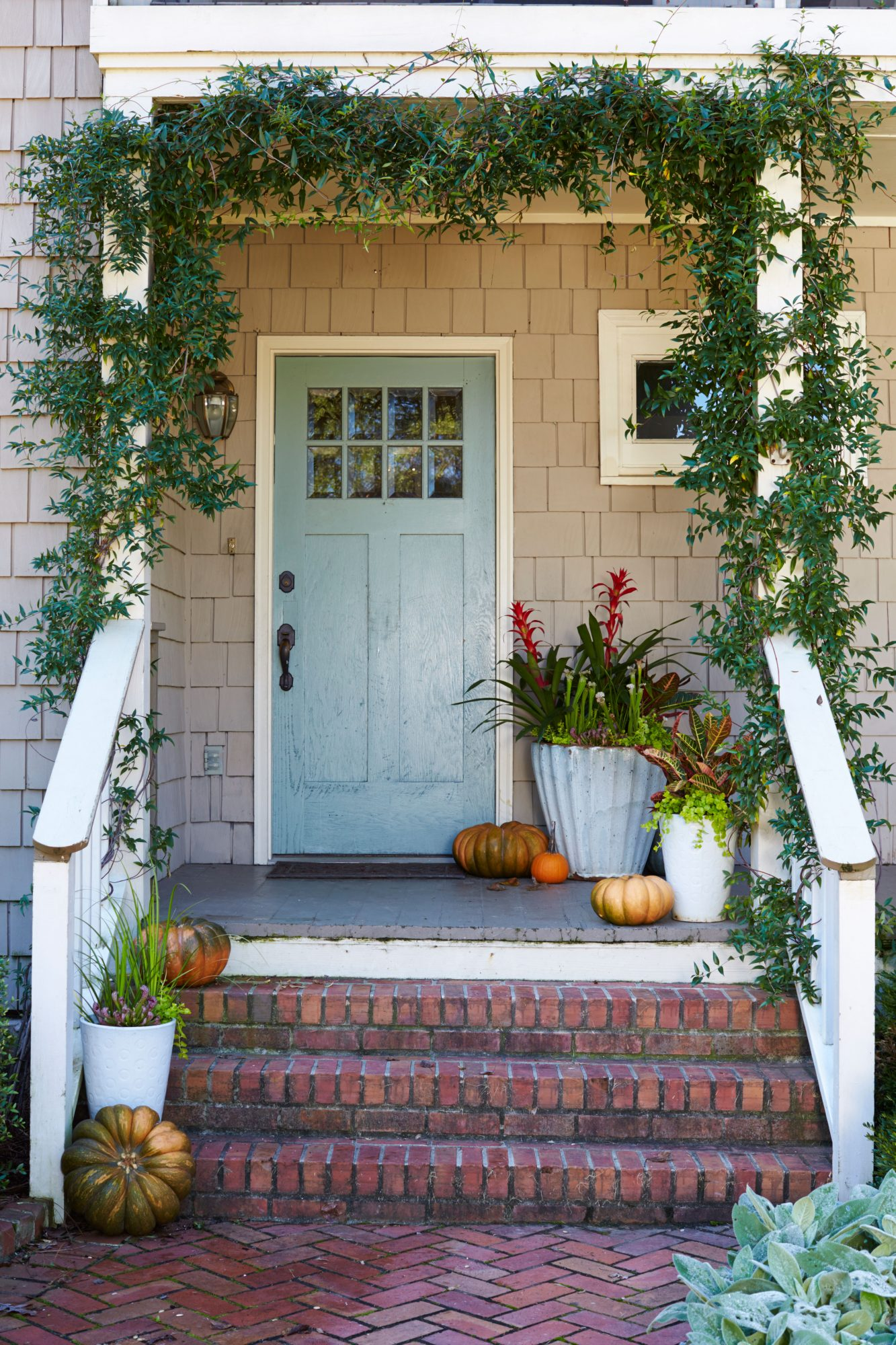 Modern Touch Front Door Container
