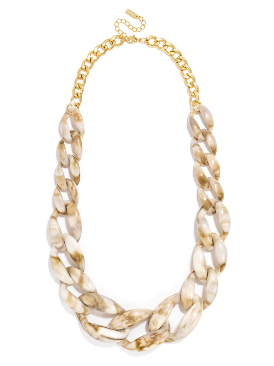 Bone Links Necklace