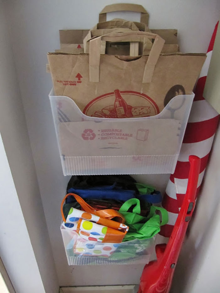 Grocery Bag Organizers
