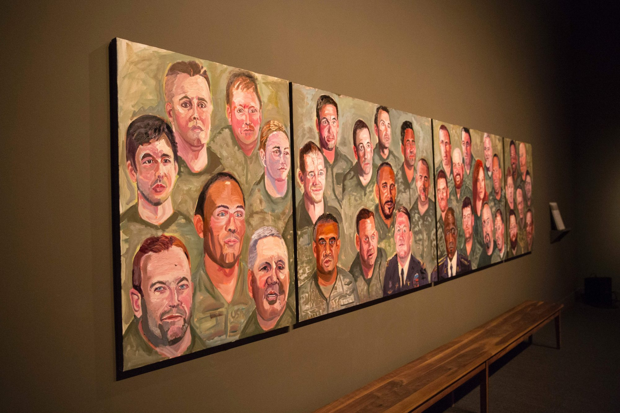 George W. Bush's Paintings of Wounded Militarty Veterans
