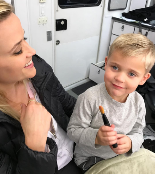 Reese Witherspoon and son Tennessee