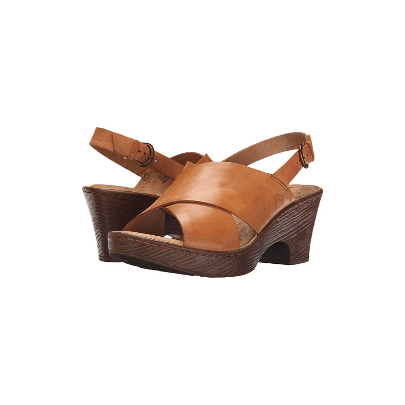 Sandal with Thick Heel