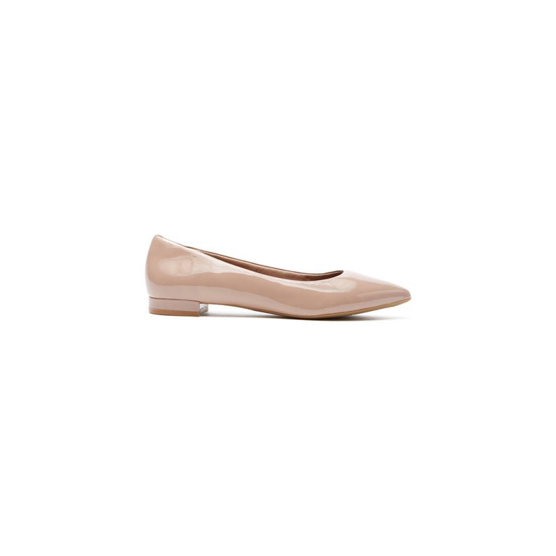 Rockport Neutral-Colored Ballet Flat