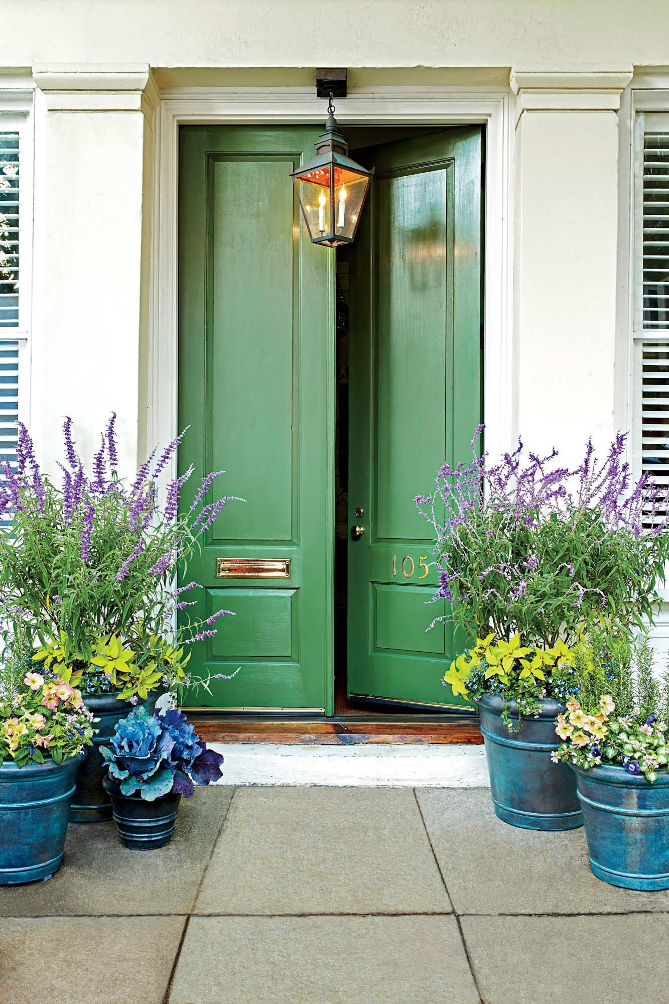 Charleston Green Front Door