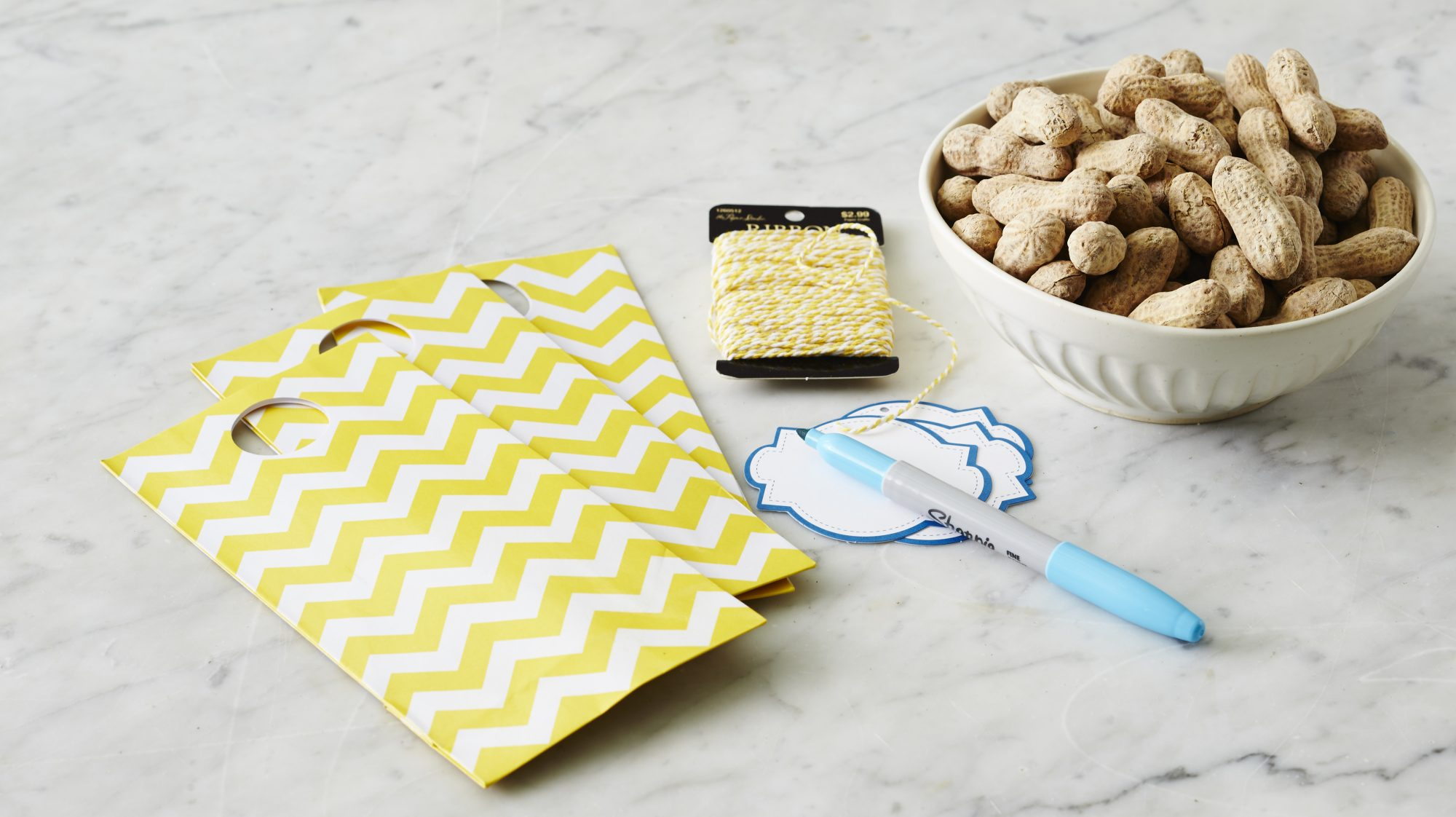 How-To: Roasted Peanut-Filled Favors
