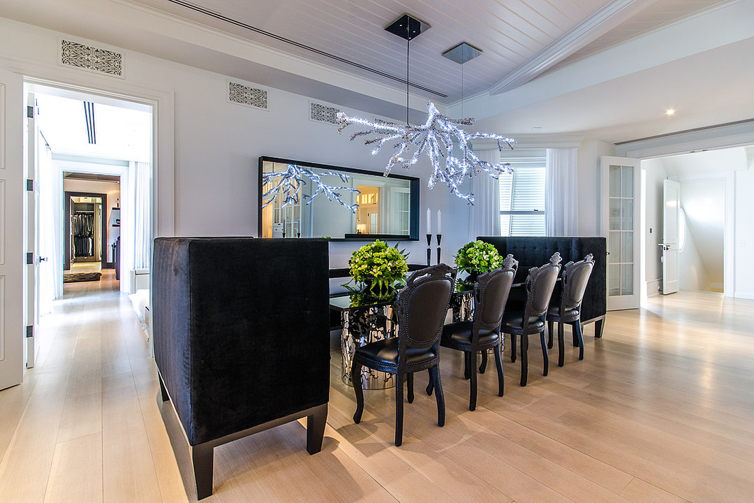 Céline Dion's Luxurious Florida Mansion: Dining Room