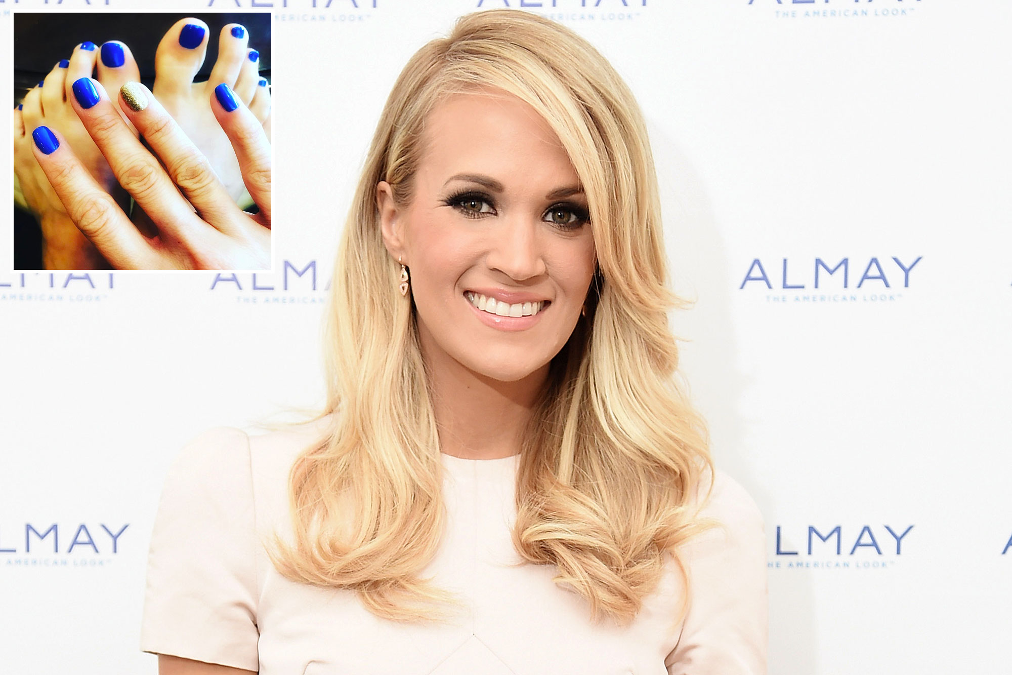 Carrie Underwood Nail Art