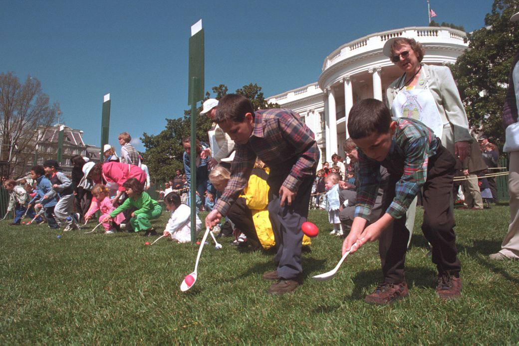 Egg Roll at White House