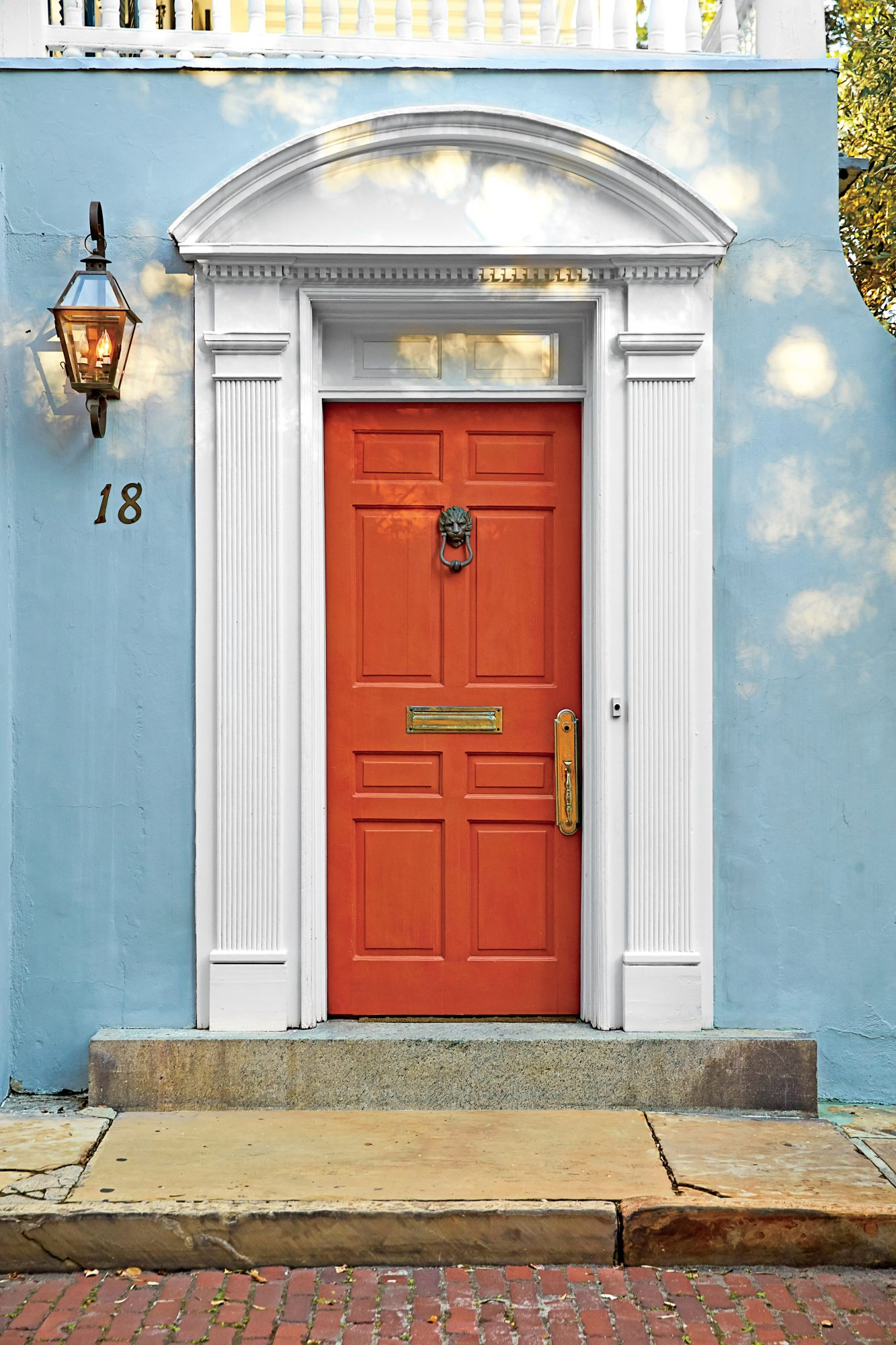 Vermillion Door