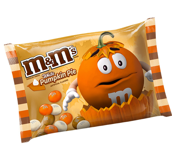 White Pumpkin Pie M&Ms