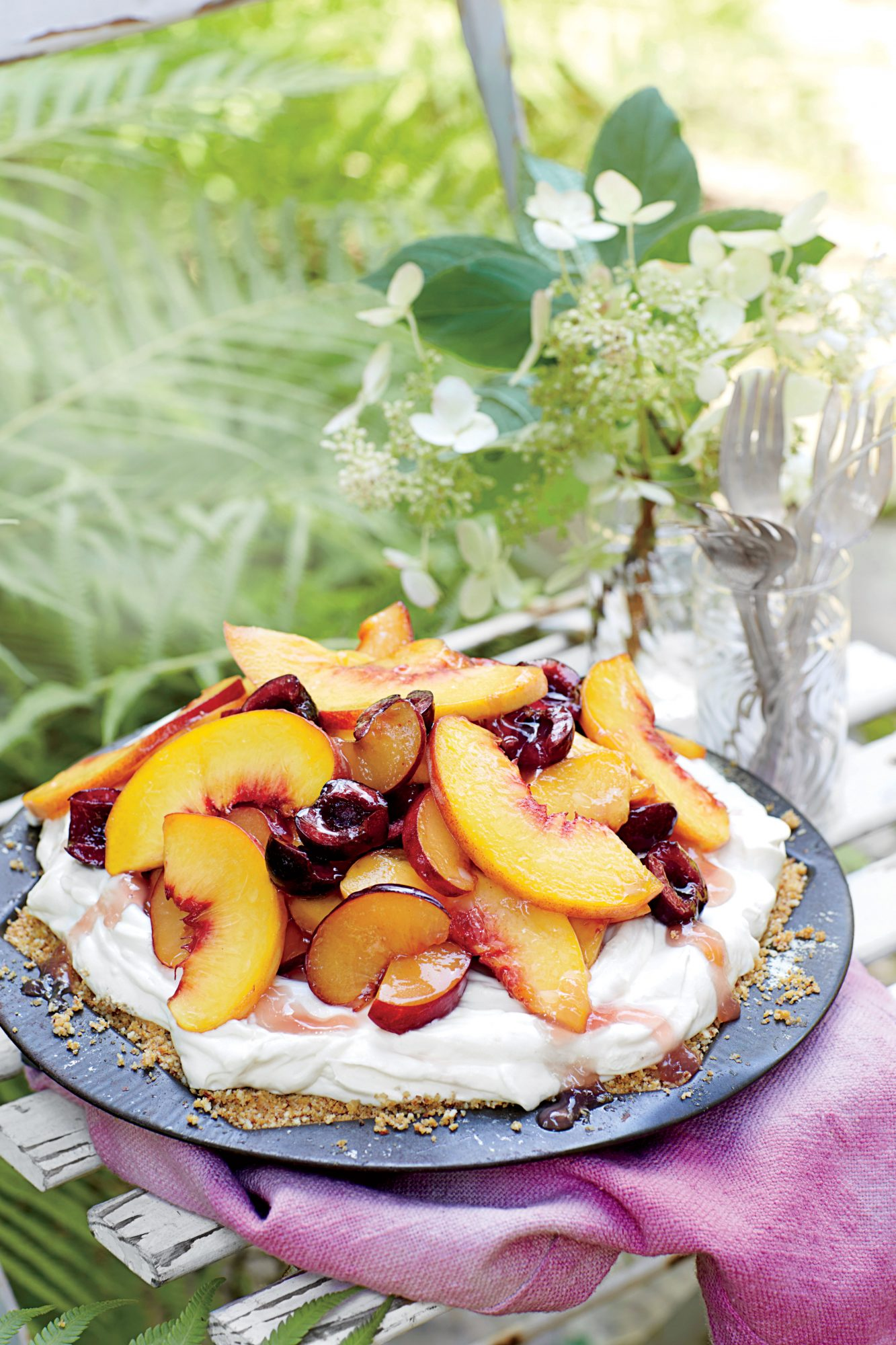 Mixed Stone-Fruit Pie