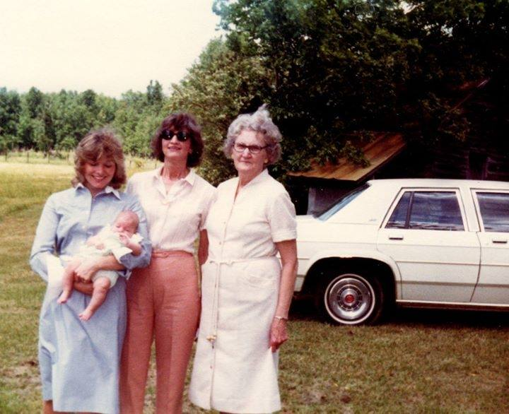 Four Generations of Southern Mothers