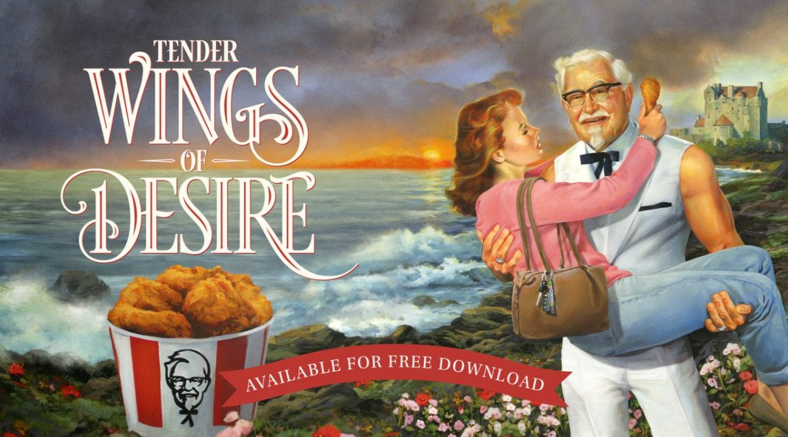 KFC Releases Colonel Sanders Romance Novel for Mother's Day
