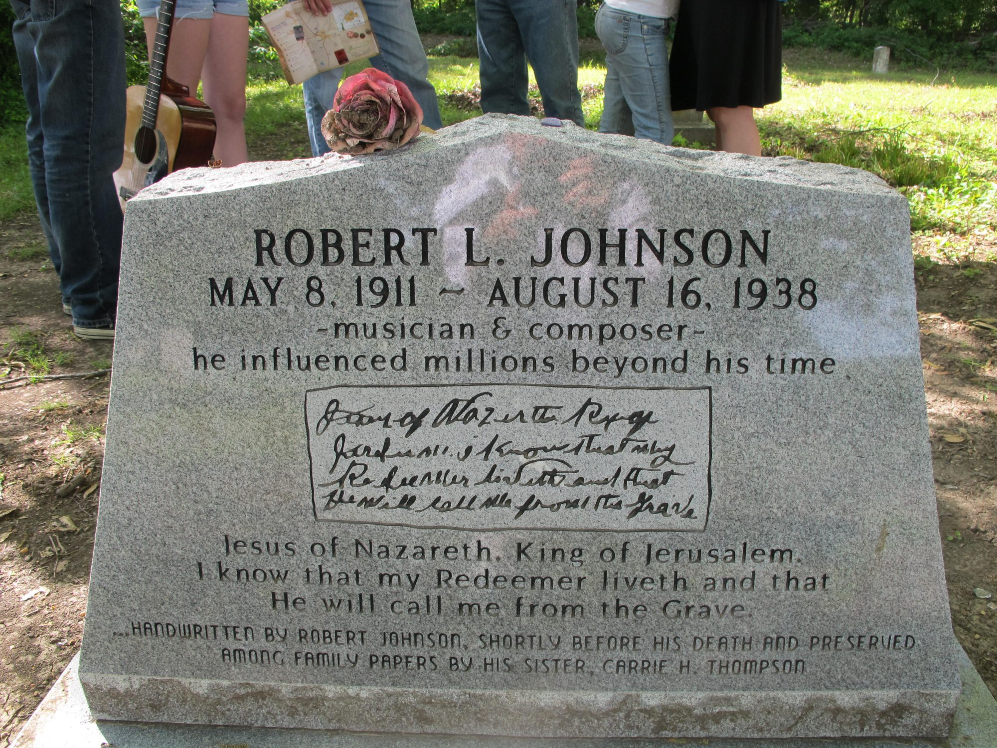 Robert Johnson's Grave