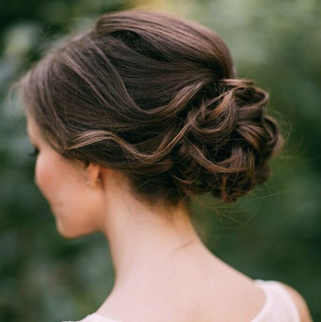 Soft Romantic Chignon