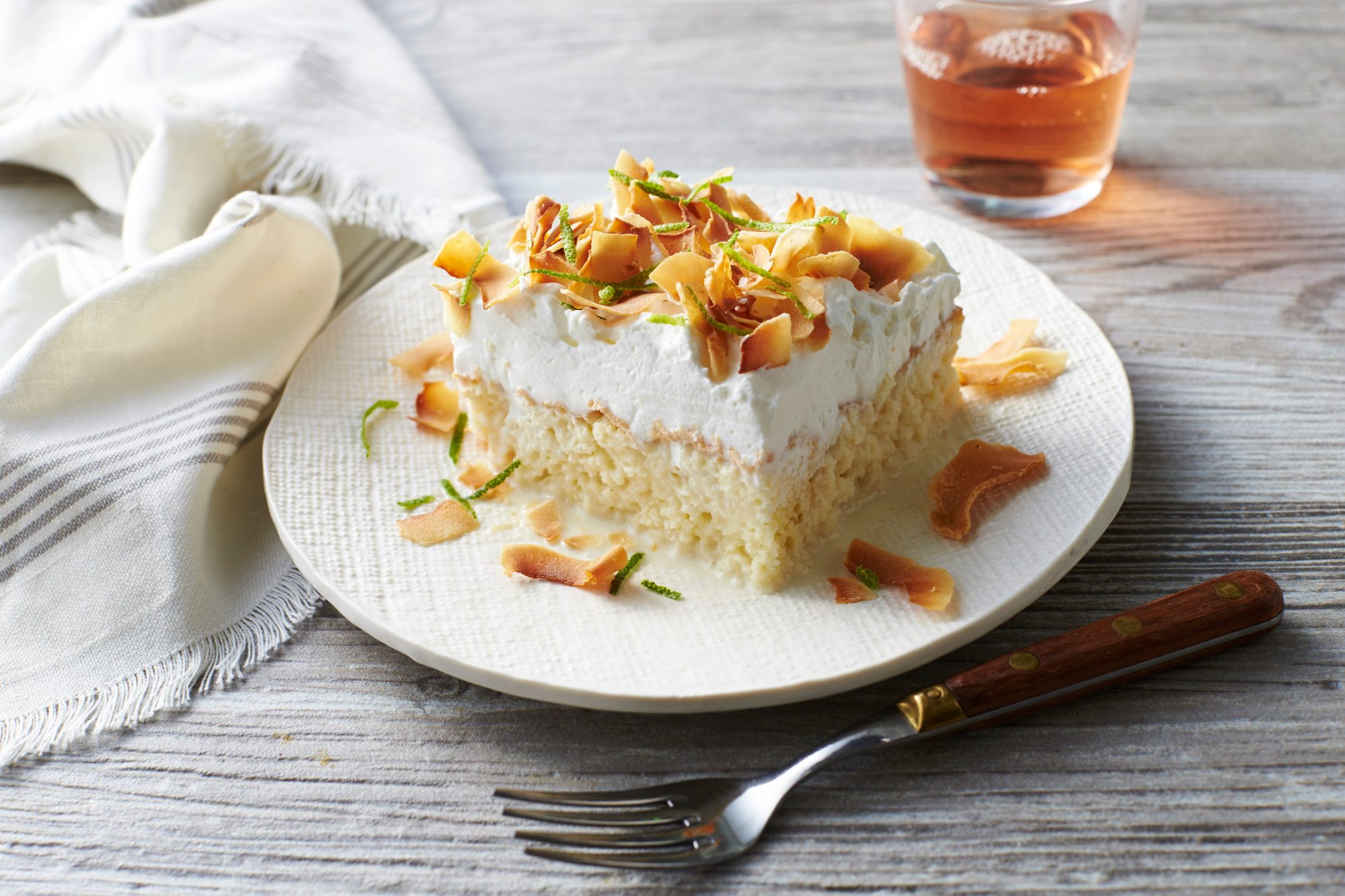 Coconut Tres Leches Sheet Cake