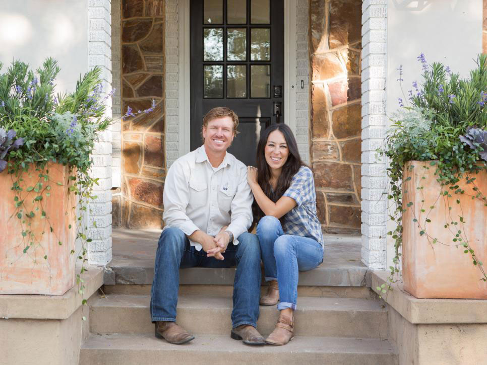 Chip and Joanna Gaines Outdoor