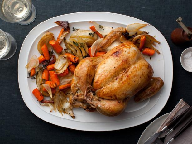Ina's Perfect Roast Chicken