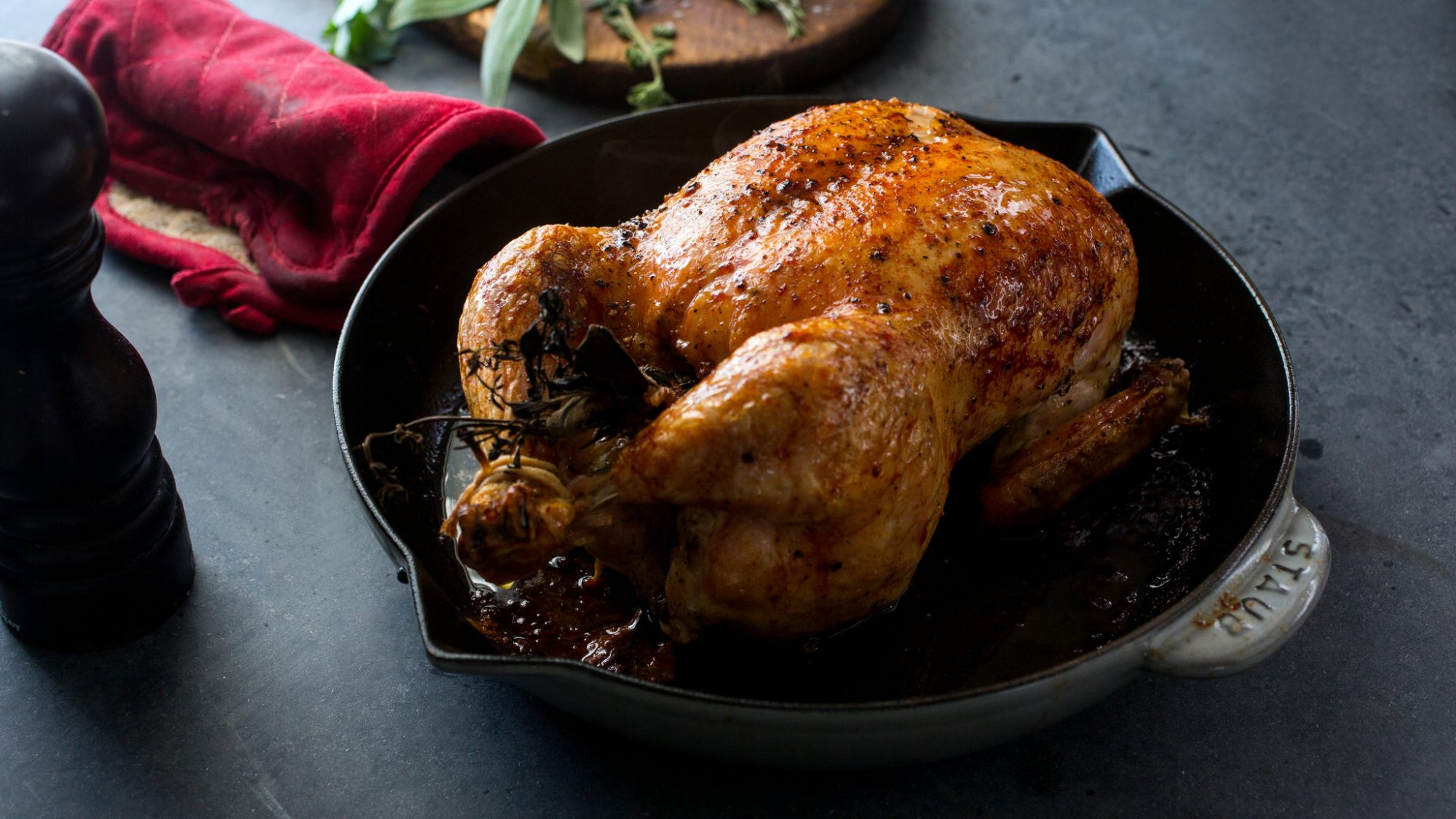 Salt and Pepper Roast Chicken