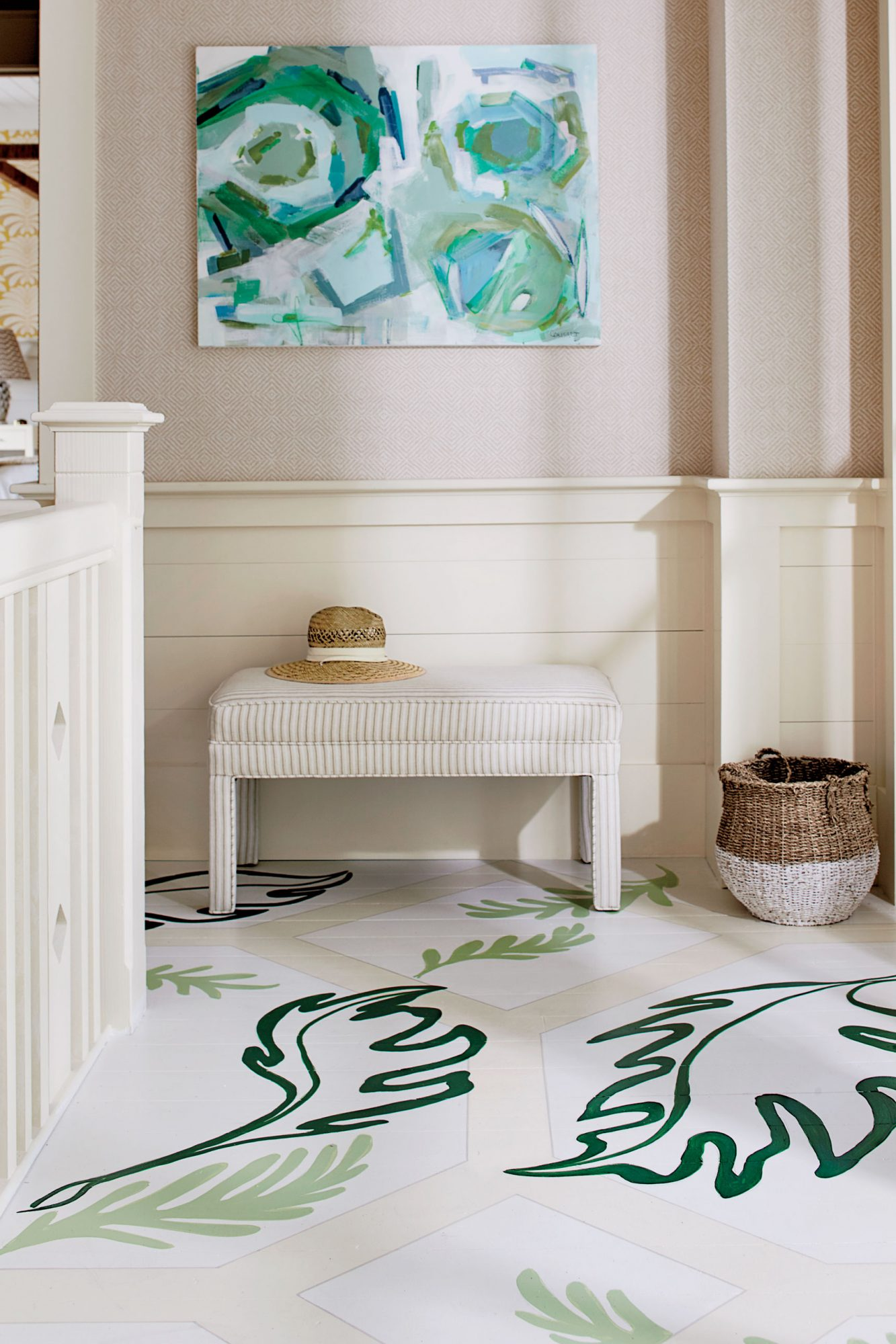 Southern Living Painted Floors