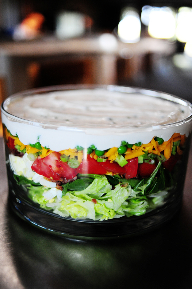 The Pioneer Woman's Layered Salad
