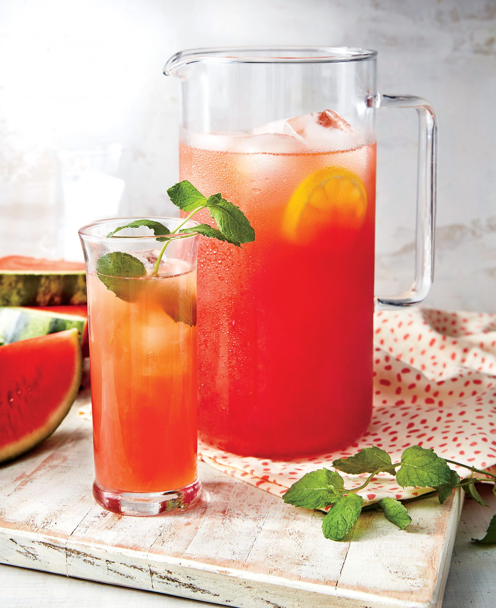 Spiked Watermelon Lemonade Recipe Southern Living