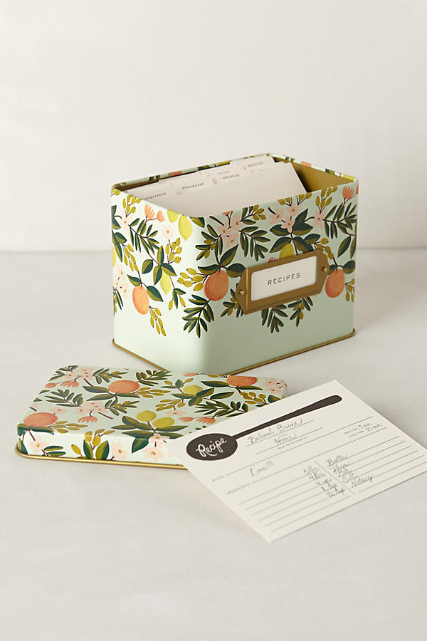 Rifle Paper Co. Grand Dame Recipe Tin