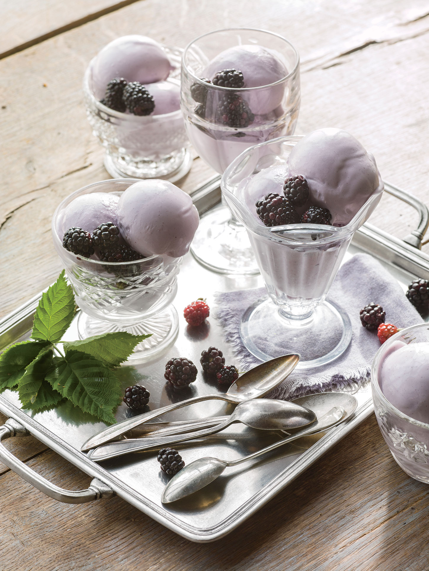 Blackberry Gelato Recipe