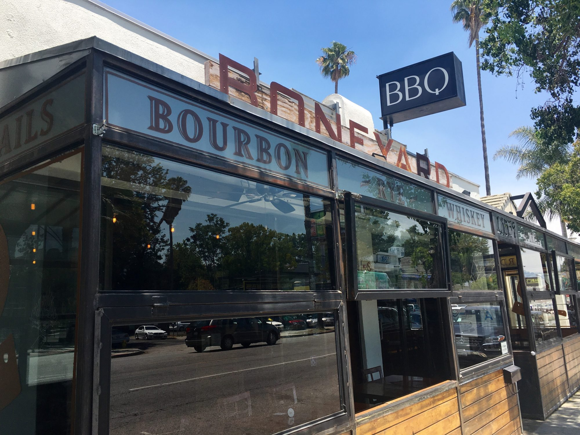 Boneyard Bistro in Sherman Oaks, California
