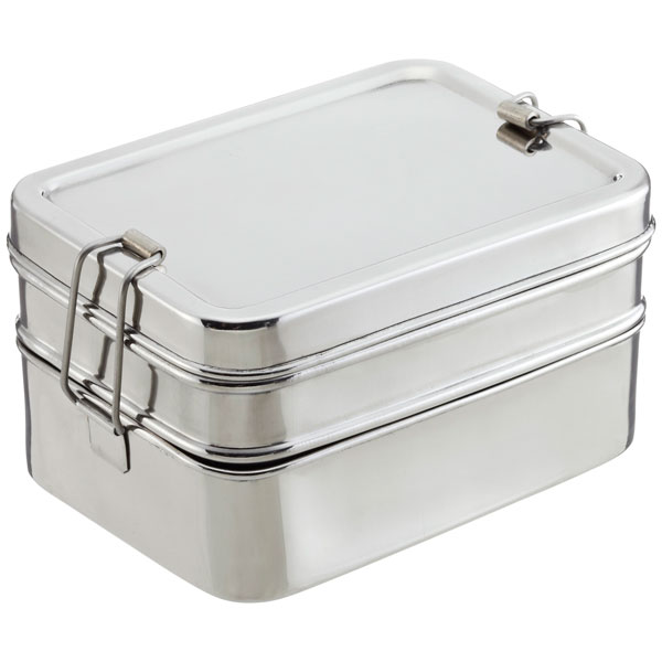 Stainless Steel '3-in-1 ECOlunchbox'