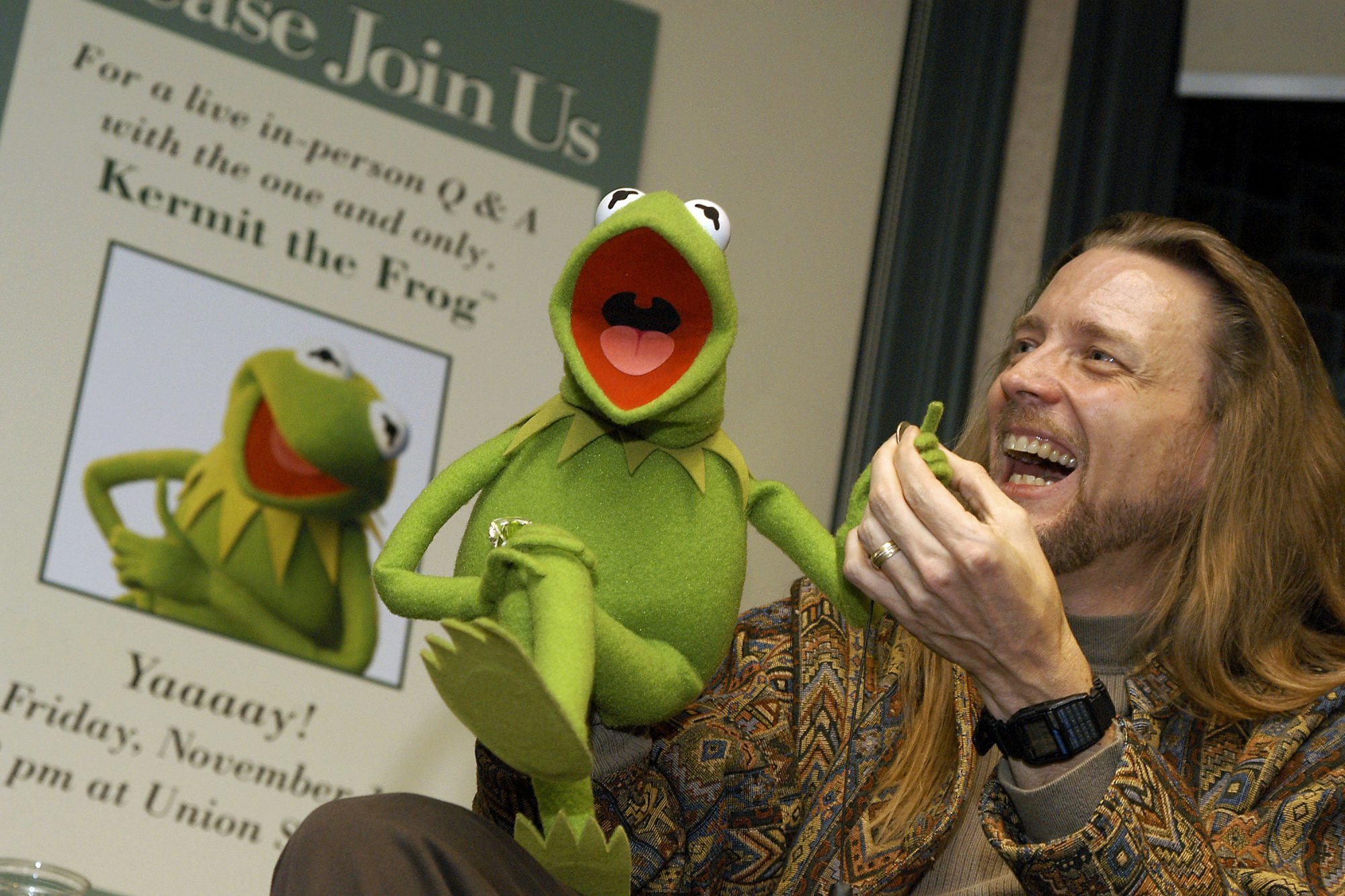 new voice muppets kermit frog