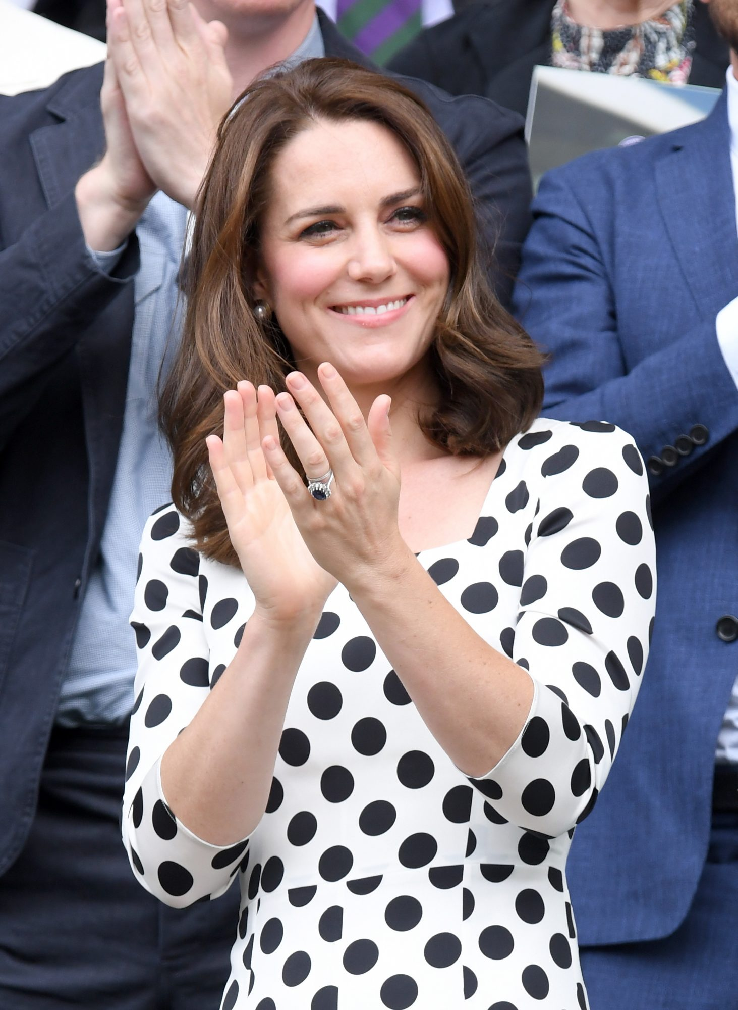 Kate Middleton Clapping