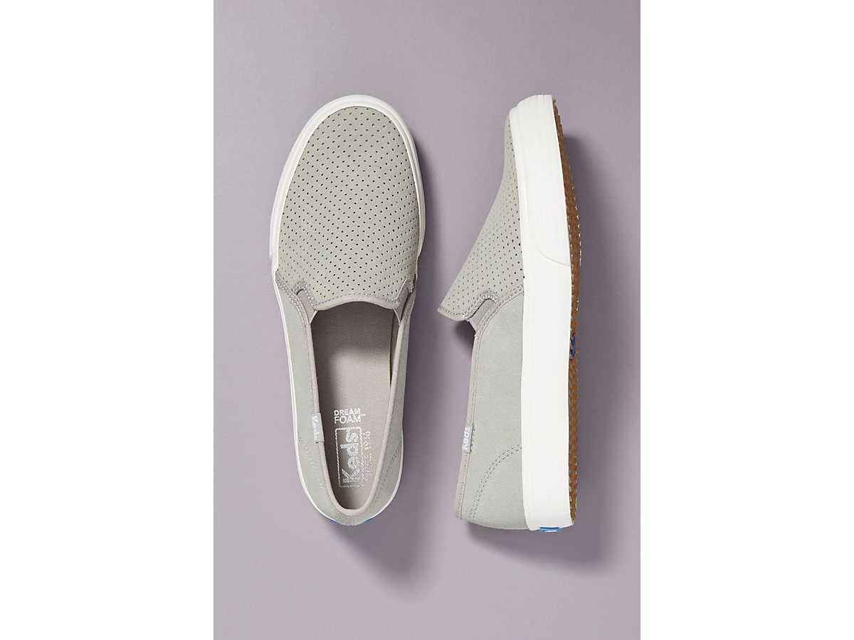 Keds Perforated Slip-On Sneakers