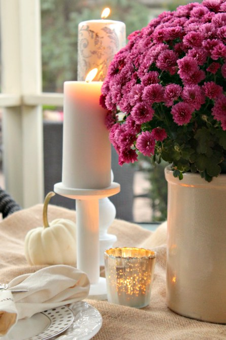 Incredible Ways to Decorate with Mums Change Up Fall Colors