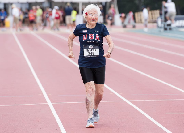 101 Year Old Runner