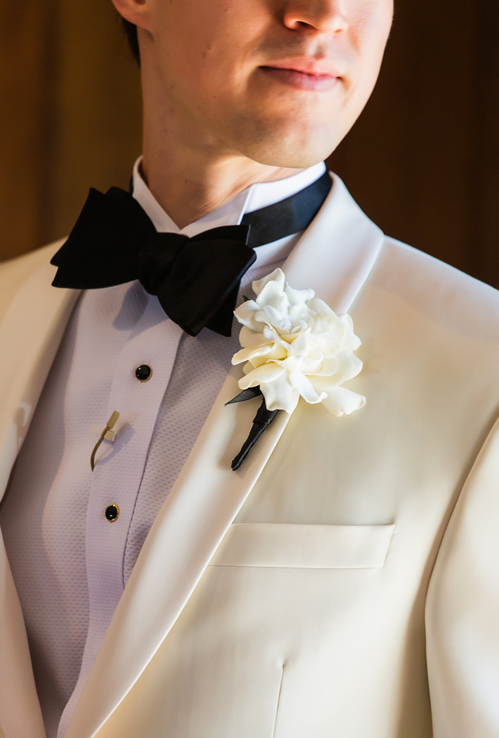 Groom White Tux