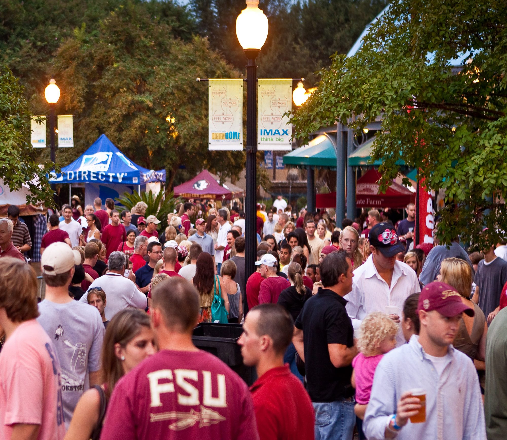 Florida State tailgate