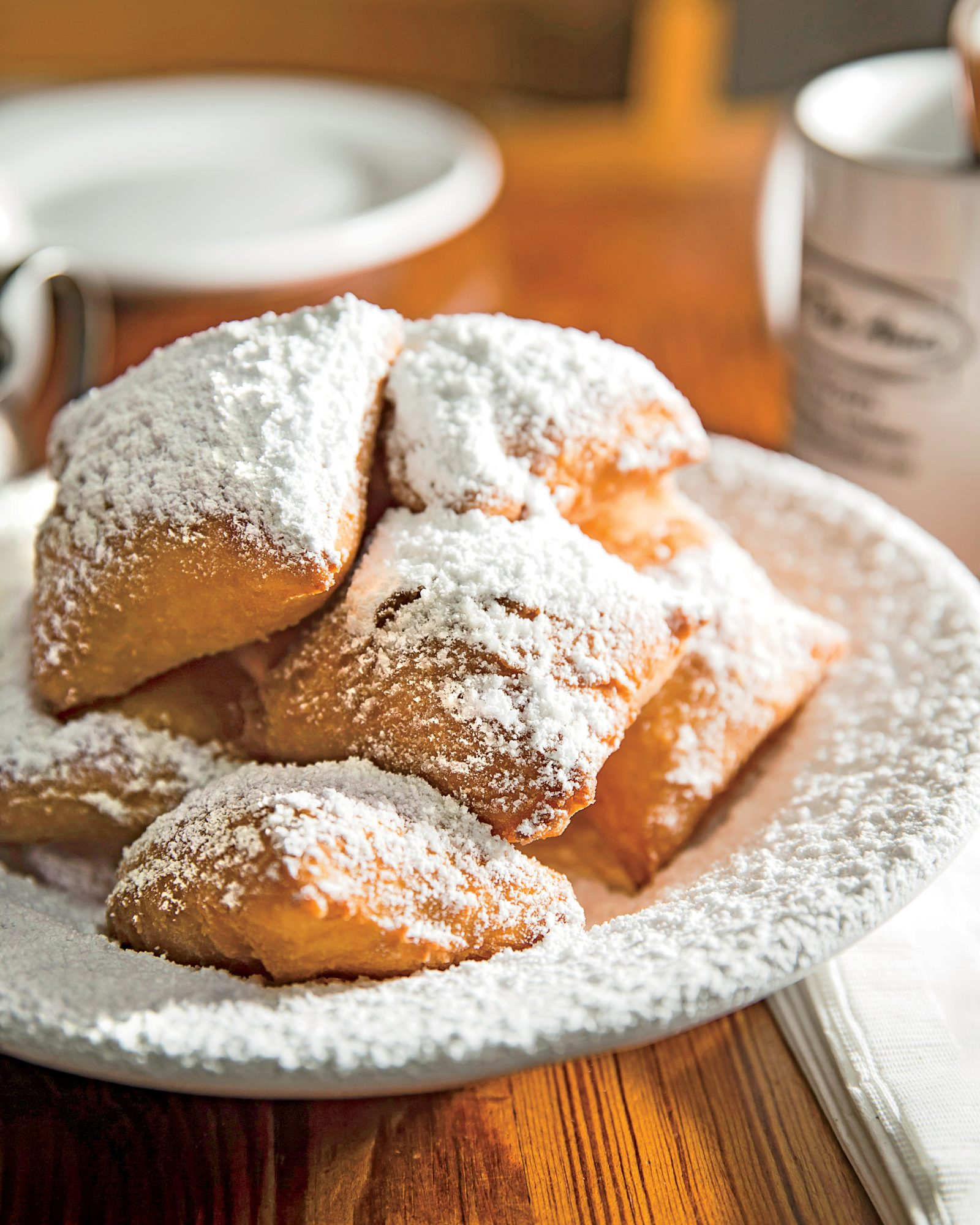 10. Sending out beignets at the wrong temperature.