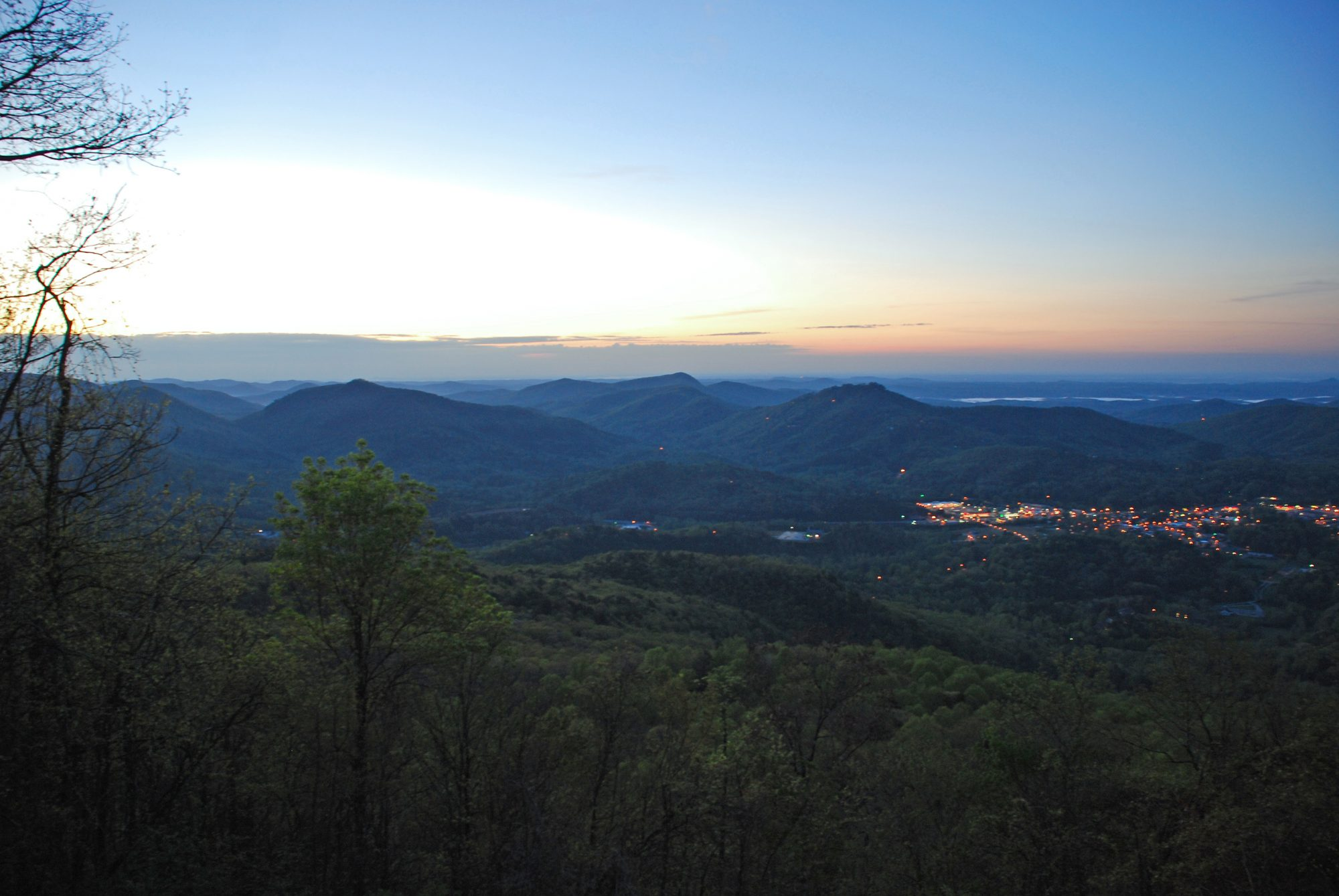 Georgia: Black Rock Mountain State Park in Mountain City
