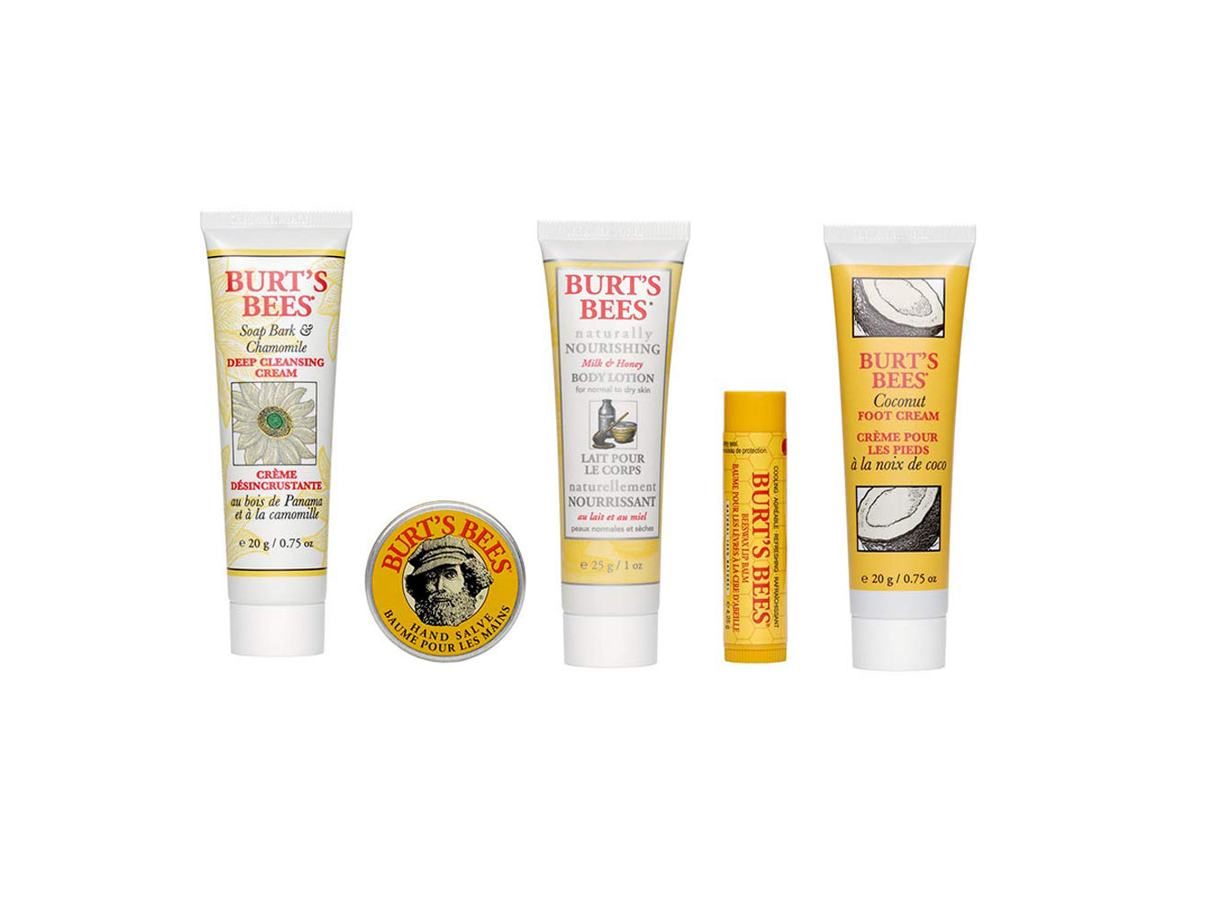 Essential Burt's Bees Kit Gift Set
