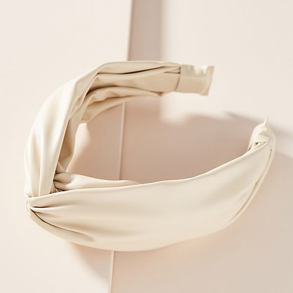 Cassidy Twist Headband in Ivory
