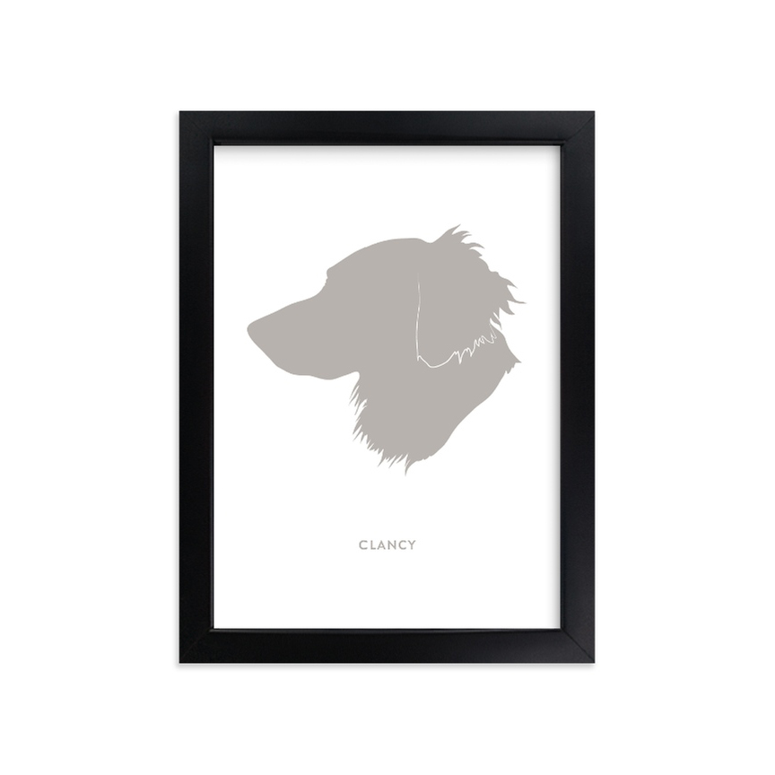 Custom Pet Silhouette Art