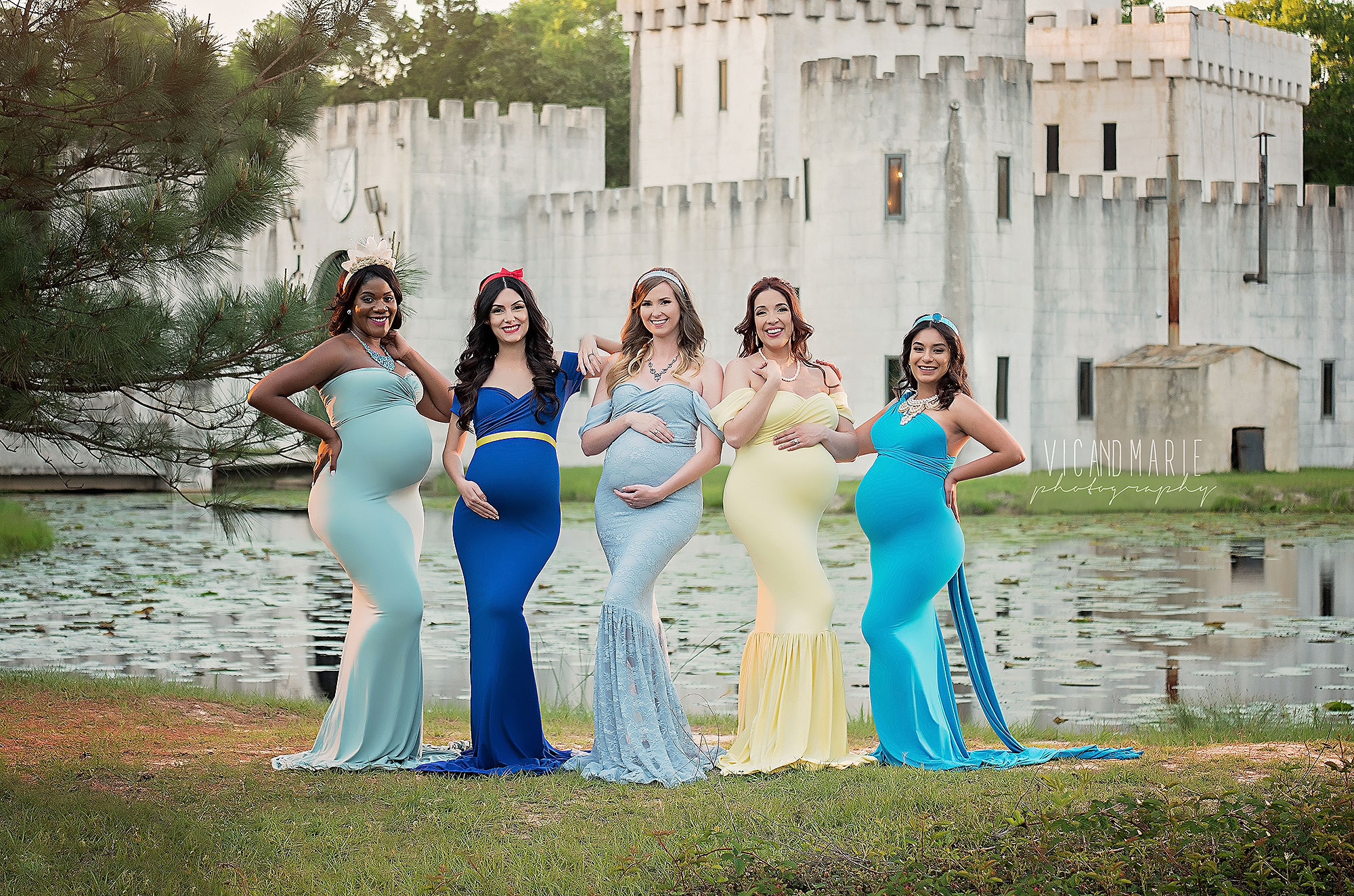 5 Pregnant Women Dress Up as Disney Princesses — and the Results Are Beyond Beautiful