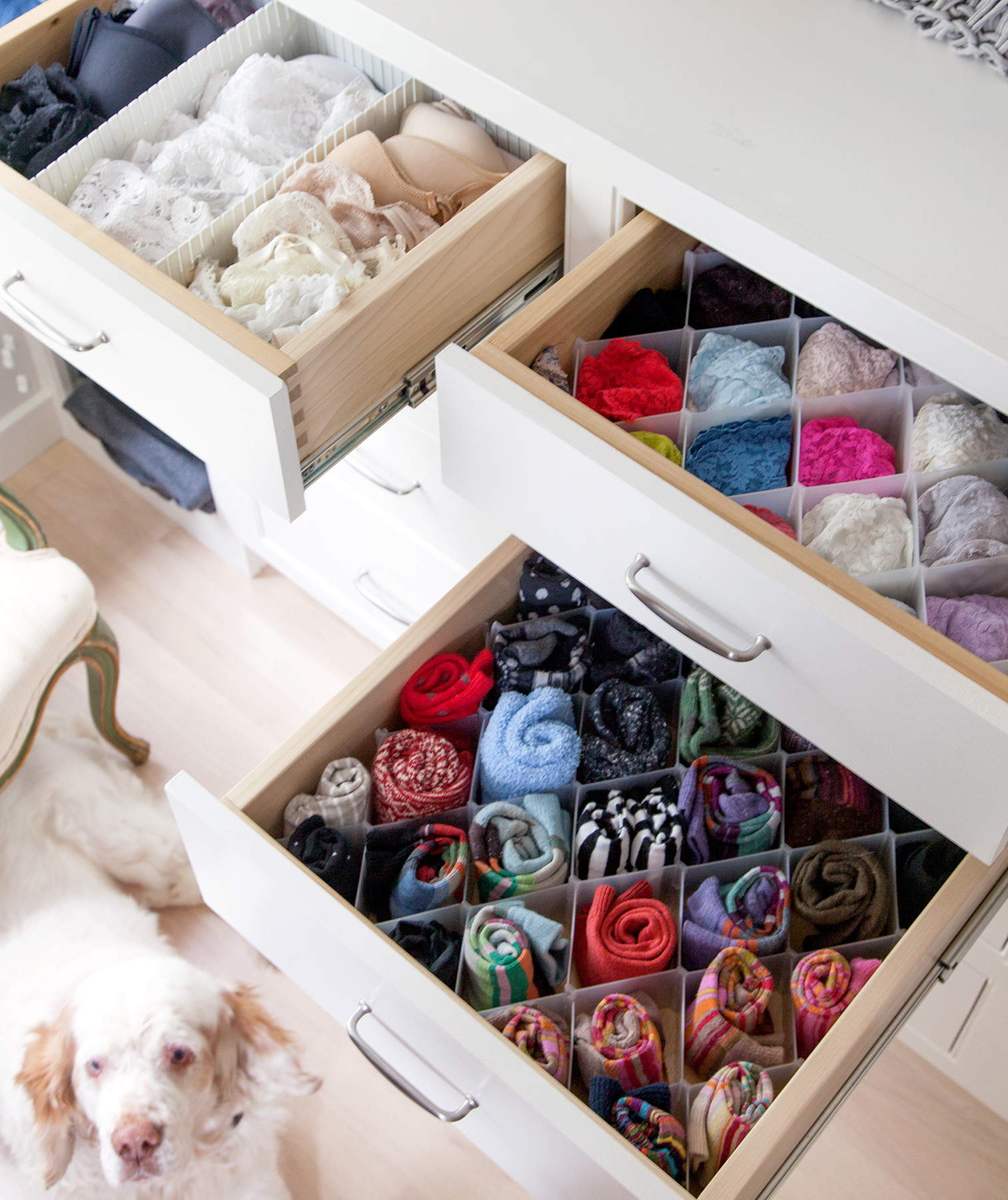 Divide and Conquer Drawers