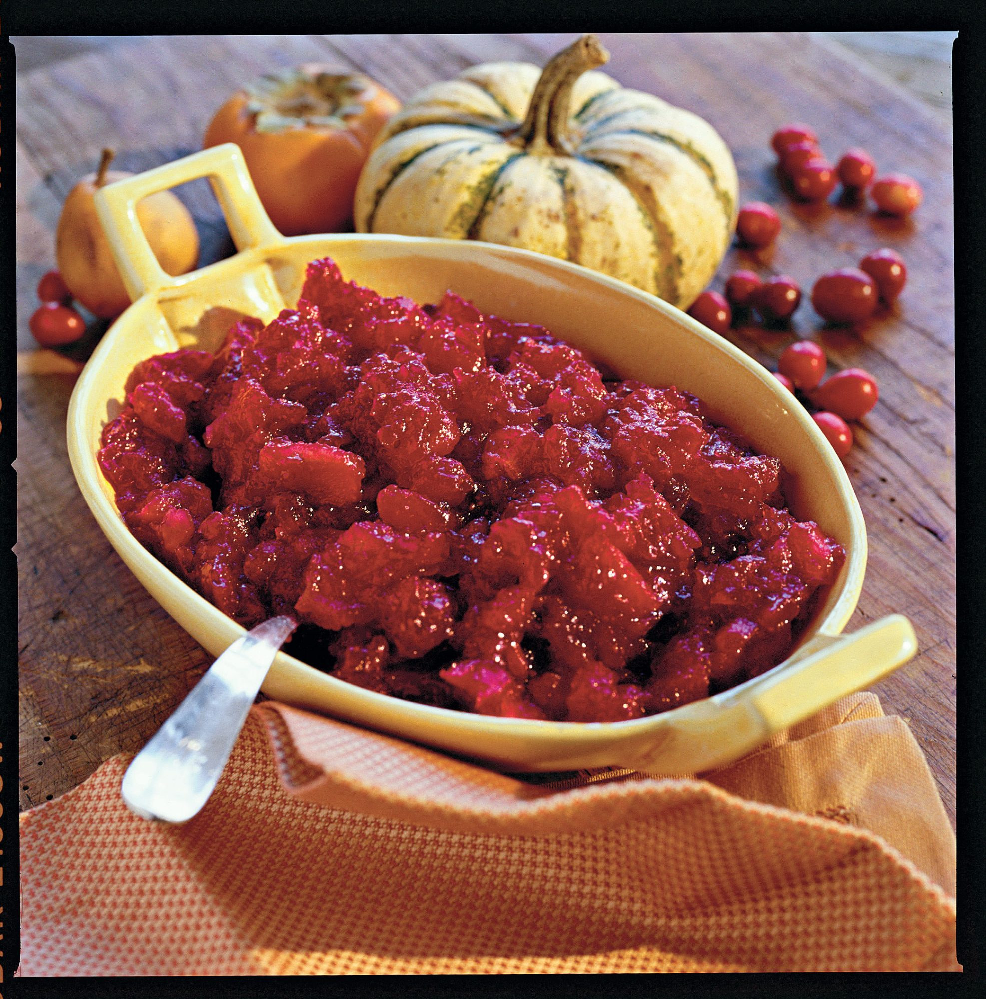 Thanksgiving Dinner Side Dishes: Double Cranberry Apple Sauce