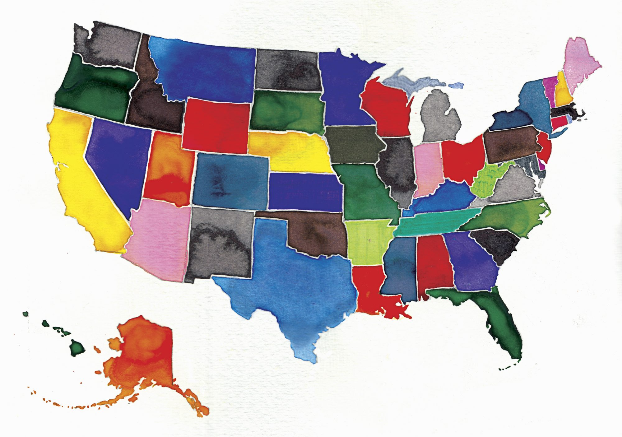 50 States Reading List Image