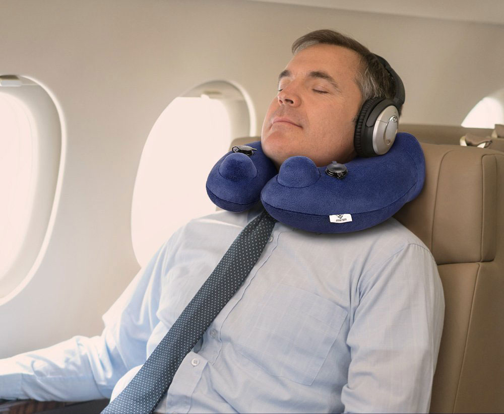 Jerrybox Travel Pillow