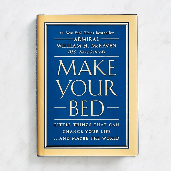 """Make Your Bed"" Book"
