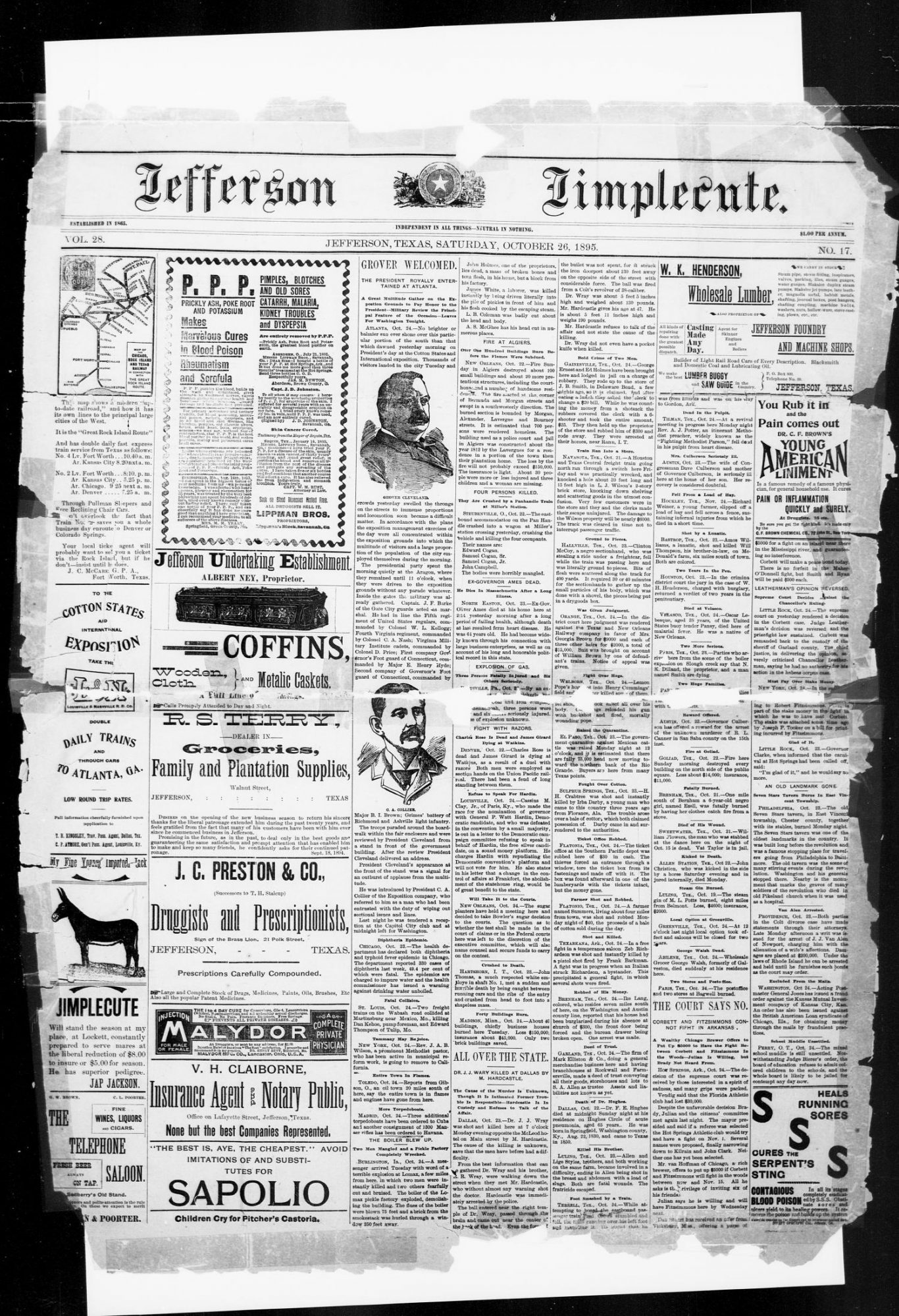 Jefferson Jimplecute Newspaper